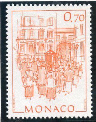 Independent Stamp Timbre De Monaco N° 1512 ** Monaco D'autrefois Procession