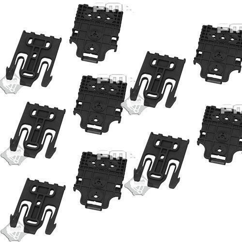 10PCS FMA TB1042BKDE Safariland Holster QLS Quick Locking System Kit