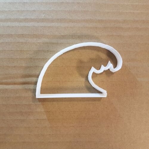 Wave Surf Sea Water Shape Cookie Cutter Dough Biscuit Pastry Fondant Sharp
