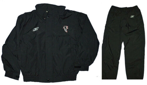 Jacket AND Pant - NFL Coach/Staff GAME ISSUE Waterproof Rain/Wind Suit - FALCONS