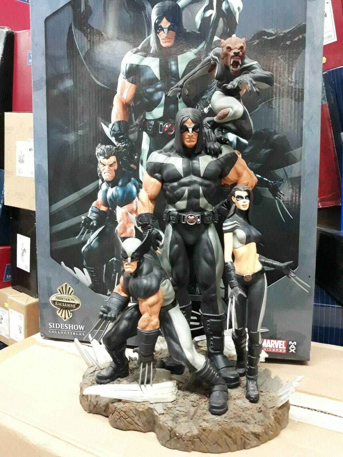 X FORCE EXCLUSIVE SIDESHOW 1 6