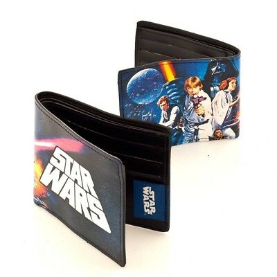 Discreto Star Wars Wallet Portafoglio Official Merchandise Fresco In Estate E Caldo In Inverno