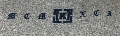 Krew Presidente Crew Fleece Pullover Sweatshirt Brand New Grey S,L,XL
