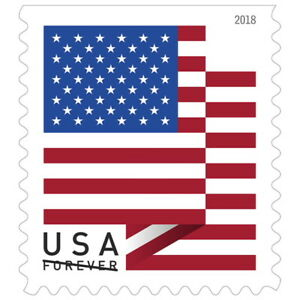 USPS-New-US-Flag-2018-Booklet-of-20