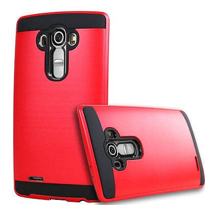 Slim Brush Hybrid Rugged Shockproof Phone Case Protective Cover For LG G3 G4