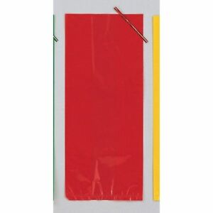 Red-Cellophane-Party-Loot-Bags-with-tie-pack-of-30