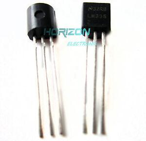 10PCS NSC LM335 LM335Z IC TO-92 Precision Temperature Sensor IC