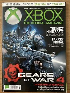 Xbox The Official Xbox Magazine  Issue 134 Feb 2016 Gears Of War 4
