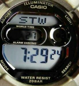Watch Casio Baby G Digital Illuminator Chrono Day Date 20Bar 12/24 Alarm New Bat