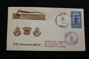 Naval-Cubierta-1954-Barco-Cancelado-de-Cachet-Uss-Andromeda-AKA-15-5992