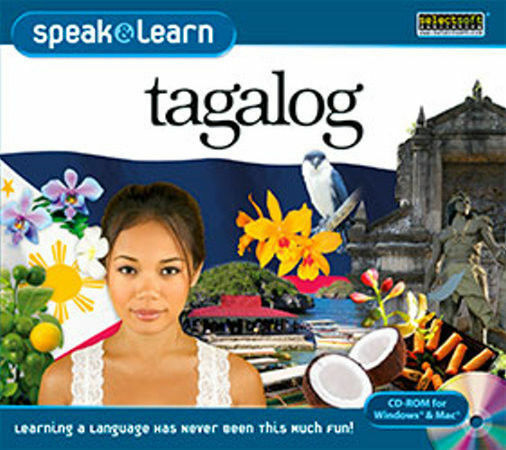 Speak and Learn Tagalog  XP Vista 7 8 10 MAC  New   Fast & Fun Way to Learn