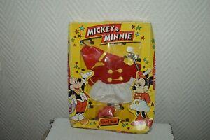 TENUE-MME-LOYAL-COSTUME-DE-CIRQUE-MICKEY-amp-MINIE-DISNEY-AJENA-NEUF-VINTAGE-1980