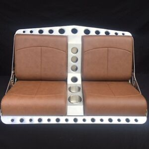 bomber style bench seat for rat rod street rod or airboat. Black Bedroom Furniture Sets. Home Design Ideas