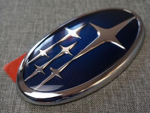 OEM Genuine 2014-2016 Subaru Forester Liftgate Rear Door Badge Blue Emblem