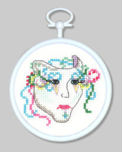 Wall-Hanging! Counted Cross Stitch Kit MIME; Christmas Ornament