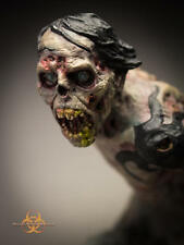 Otto Parts Zombie Bust Quarantine Studio William Paquet Model Kit Unpainted