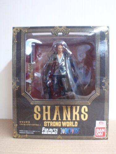 One Piece Figuarts Zero Shanks Strong World Ver Figure