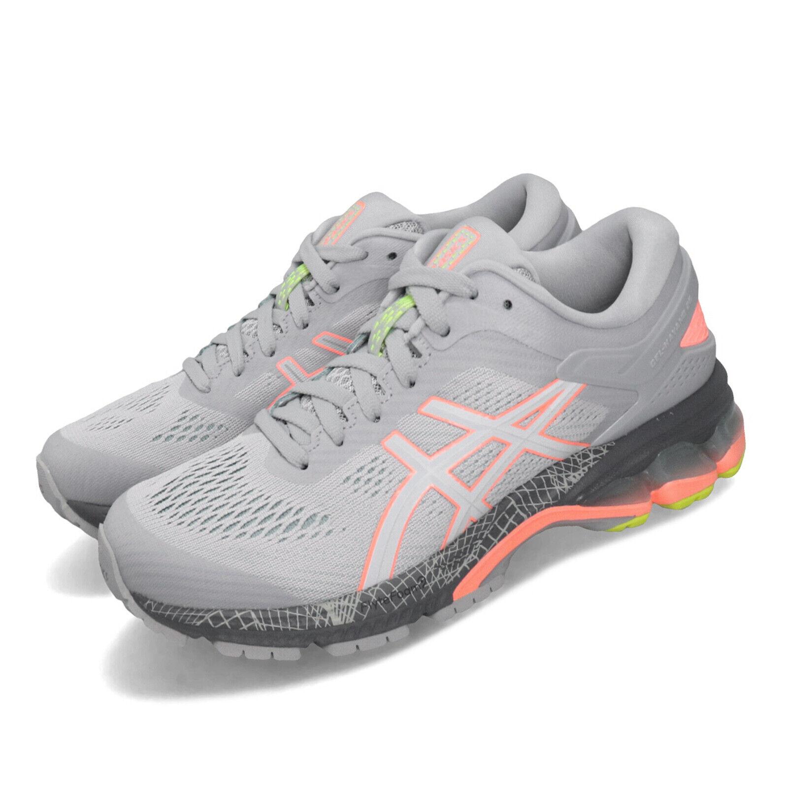 Asics GelKayano 26 Lite mostrare 2.0 Reflect grigio donna correrening sautope 1012A536020