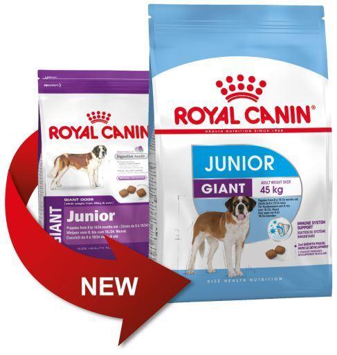 Cibo cani giovani gara gigante (più 8 mesi) Royal Canin GIANT JUNIOR 15Kg