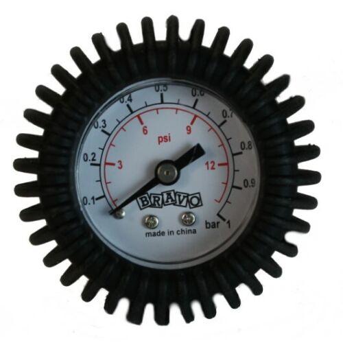 Luftdruckmesser Manometer Druckmesser Druckluftmessgerät 0-0,5 bar