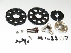 SER903014 SERPENT VIPER 977 EVO 35TH ED. ON-ROAD 2 SPEED CLUTCH SET WITH GEARS