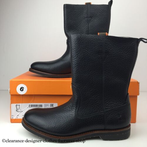 HUGO BOSS ORANGE BOOTS MENS ARTION BOOT NEW BLACK CASUAL UK 6 RRP 270