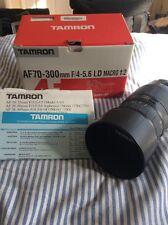 Tamron AF 70-300mm F4-5.6 LD Macro 1:2 Zoom Lens Canon Camera EOS 572DE Model