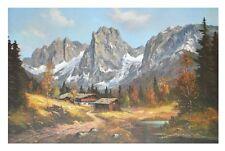 K. Petry Kaiser Gebirge Poster Kunstdruck Bild 52,8x81,6cm - Kostenloser Versand