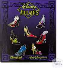 Disney Parks Villains Designer Shoe Booster Pin Set Pins Pack