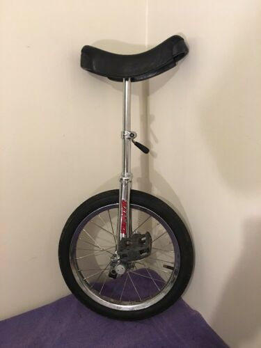 "20"" Zephyr Unicycle Silver Chrome K4"