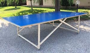 Tavolo Esterno Fai Da Te.5 Mm Grigio Tavolo Da Ping Pong Pieghevole Interno Esterno Outdoor