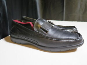 e5d1fc7eac0 Dr. Scholl s Studio Series Men s Black Leather Loafers Slip-On Size ...