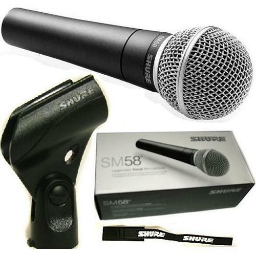 SHURE SM58LCE vocal microphone cardiod dynamic microphone 100% original