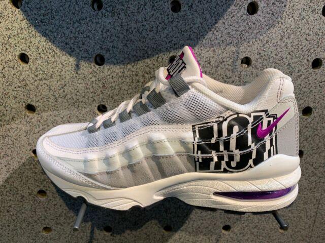 sneakers for cheap d2076 27da6 NIKE AIR MAX 95 /Wolf Grey Black Purple City Pride Houston Sz 4Y-13 NEW  V1225500
