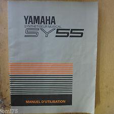YAMAHA 90' SY55 SY-55 Manuel Français utilisateur