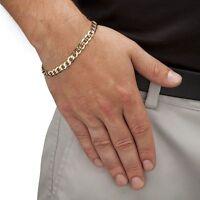 Stylish 14k Gold Filled Classical Style Mens / Women's Bracelet 8.5 Gf21