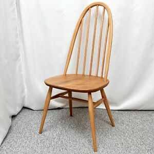 ERCOL-365-WINDSOR-QUAKER-CHAIR-REFINISHED-VINTAGE-c-1960