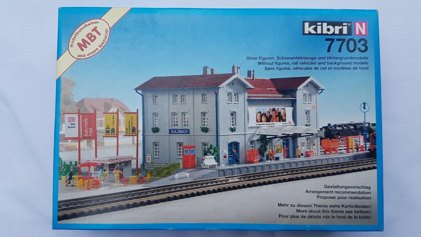 Kibri N N N 7703 Bahnhof Sulzbach OVP c94adf