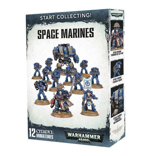 Warhammer  estrellat Collecting  spazio Marines cod. 7048 NUOVO SIGILLATO