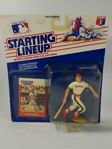 1988 MLB Baseball Starting Lineup Wally Joyner - California Angels