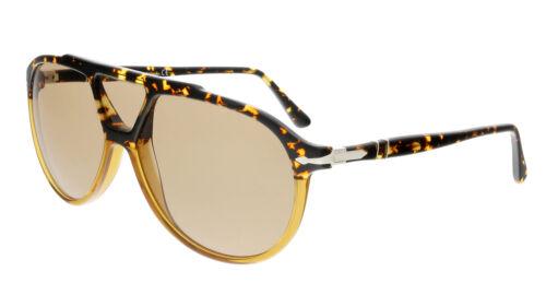 Persol PO3217S 108653 Caramel Tortoise Aviator Sunglasses