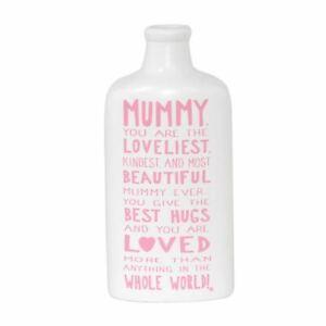 Message-On-A-Bottle-Mummy-Ceramic-White-Pink-Sentiment-Message-Bottle-Keepsake