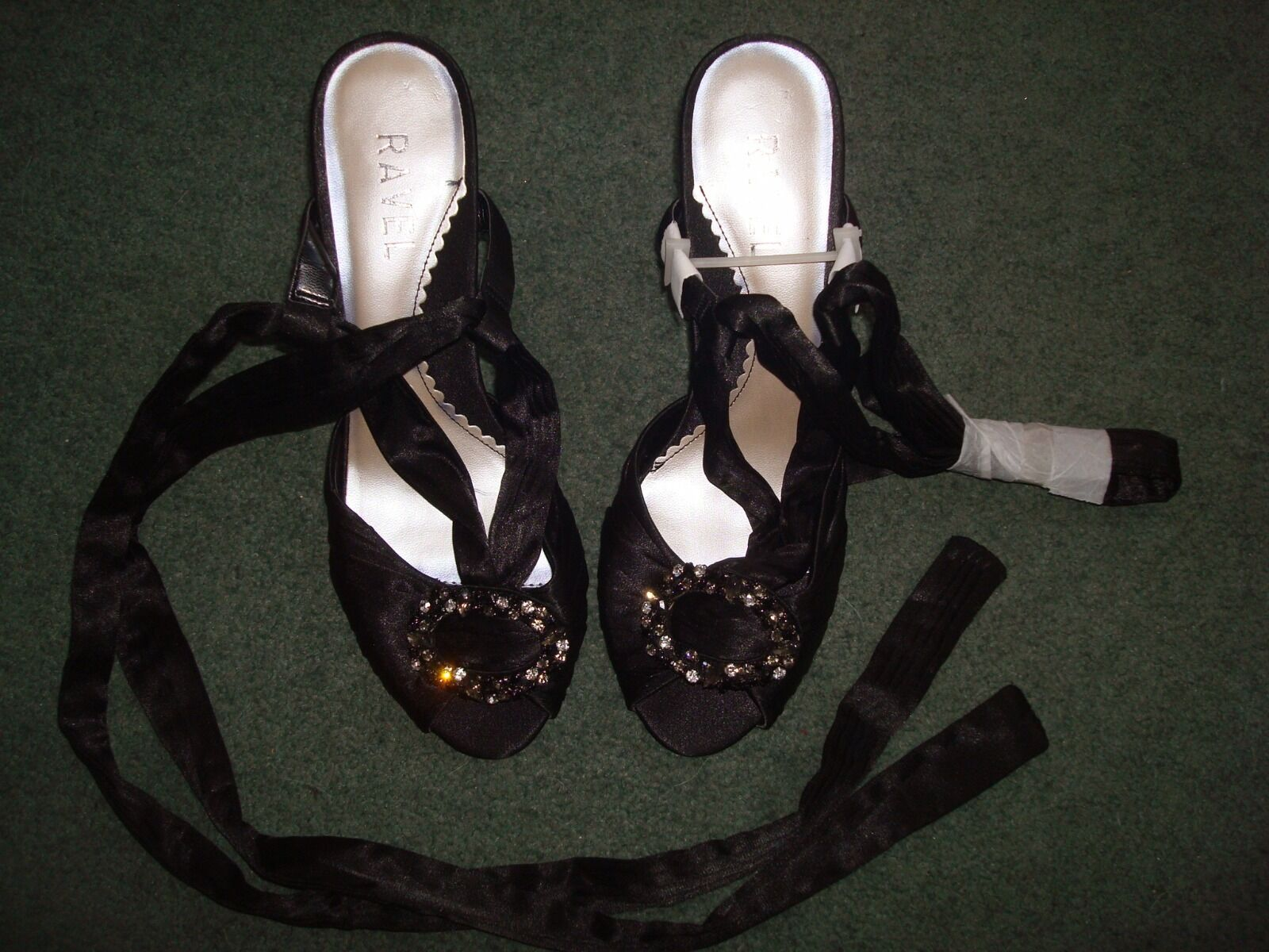 RAVEL black womens shoes. high heel shoes. womens Size 39 d363e5