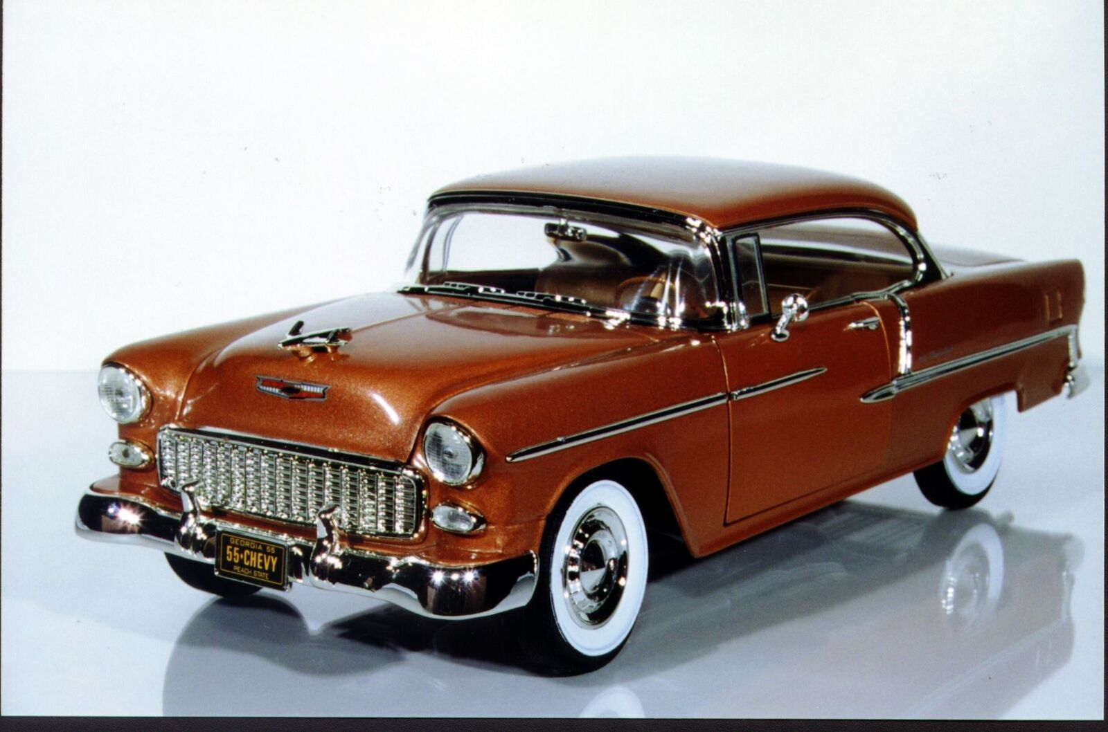 1 18 Ertl CHEVY BEL AIR'55 HT PEACHSTATE Collectibles GMP Limited Edition 1 2500 Comme neuf IN BOX