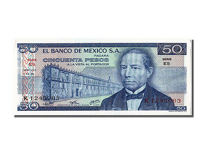 65-70 1976 K 1243083 Comfortable And Easy To Wear #300651 Km #65b 1976-07-08 Mexico Unc 50 Pesos