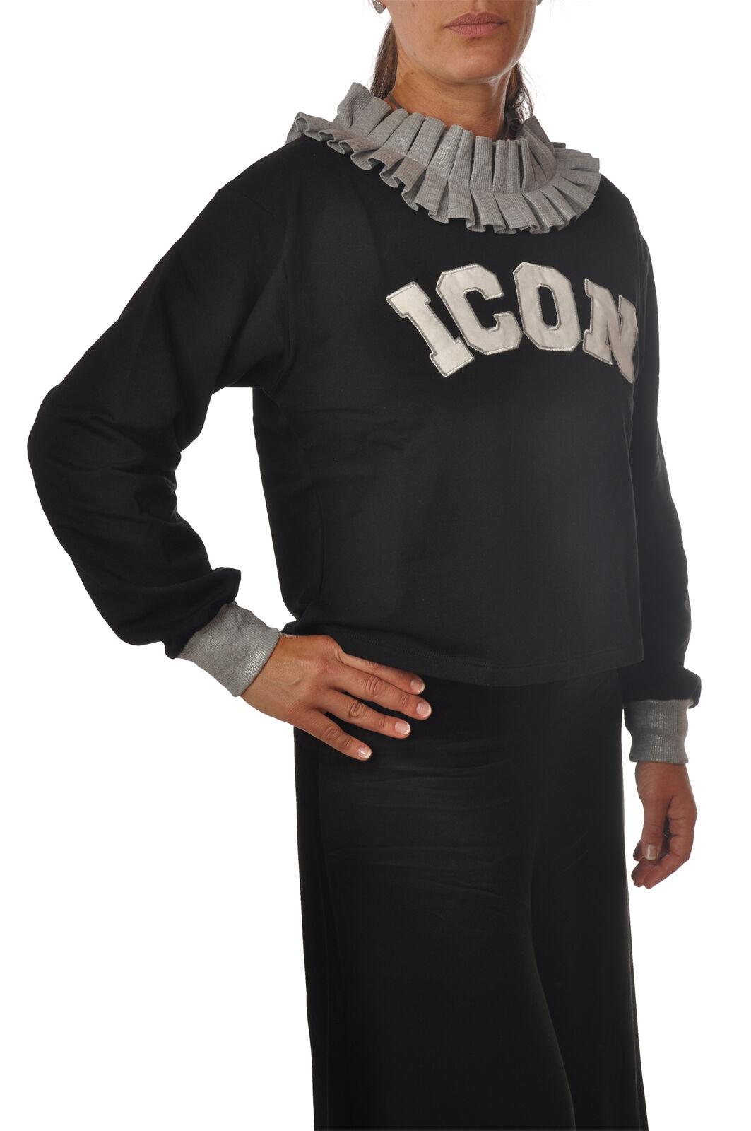 Le voliere-topwear-Sudaderas-Mujer  - Negro - 5424309H183612  tienda de pescado para la venta