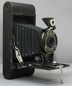 Eastman Kodak Hawk Eye Model B 2a Folding Vintage Camera Usa 29061 Ebay