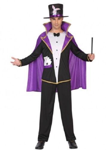 Déguisement Homme MAGICIEN violet noir M//L Adulte Lapin Drôle NEUF Pas cher