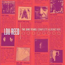 LOU REED - SIRE YEARS:COMPLETE ALBUM BOX 10 CD NEU