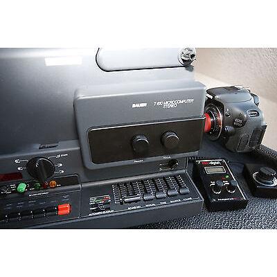 Komplettset für Filmtransfer mit DSLR-Kamera | Bauer T610 + Canon EOS 600D